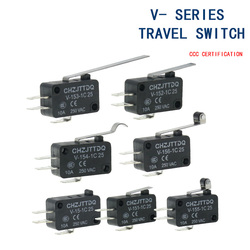Momentary Micro Limit Switch CHZJTTDQ V-15.V-151.V-152.V-153.V-154.V-155.V-156.-1C 25 Travel switch limit switch silver contact