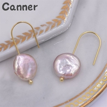 Round Baroque Pearl Earrings For Women Circle Dangle Earrings Femme Pearl Earrings Drop Earings Fashion Jewelry Brincos Gifts A4 circle fake pearl drop earrings page 7