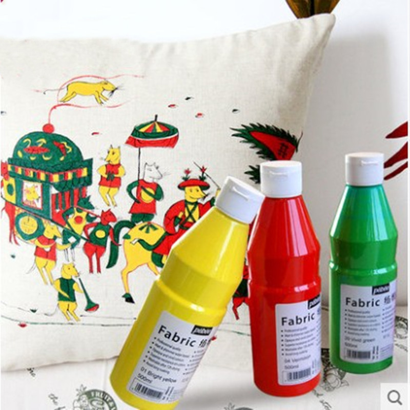 DIY Hand-painted Painted Clothes Graffiti Paint Professional Textile Fiber Pigments Gold Paint Waterproof