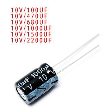 5pcs 6.3v 10v 16v 25v 35v 50v 100v 160v 250v 400v 450v 100UF 470UF 680UF 1000UF 1500UF 2200UF Aluminum electrolytic capacitors image