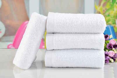 35x70 cm 흡수성 마이크로 화이버 건조 목욕 비치 타월 수건 수영복 샤워 가정용 흰색