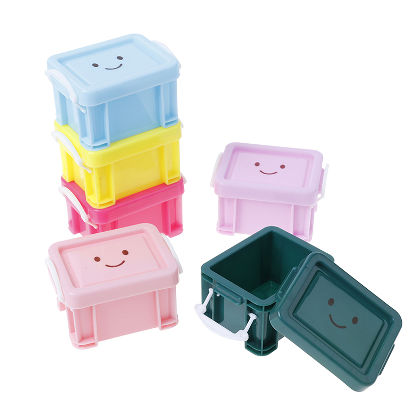 Classic Toys Pretend Play Furniture Toys Plastic Suitcase Mini Luggage Box Accessory 1:12 Doll house Miniature Vintage