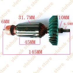 220-240 В якорь ротор замена для Makita 9528NB 9526NB 9527NB 9527 518837-6 Аксессуары для электроинструментов запчасти для электроинструментов