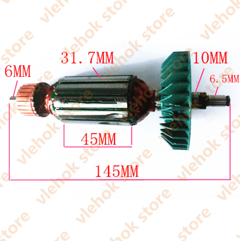 220-240V Armature Anchor Rotor Replace For Makita 9528NB 9526NB 9527NB 9527 518837-6 Power Tool Accessories Electric Tools Part