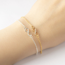 Fashion Stainless Steel Unlimited Bracelet Charm Chain illimited Cute Womens Accessories Bijoux Femme