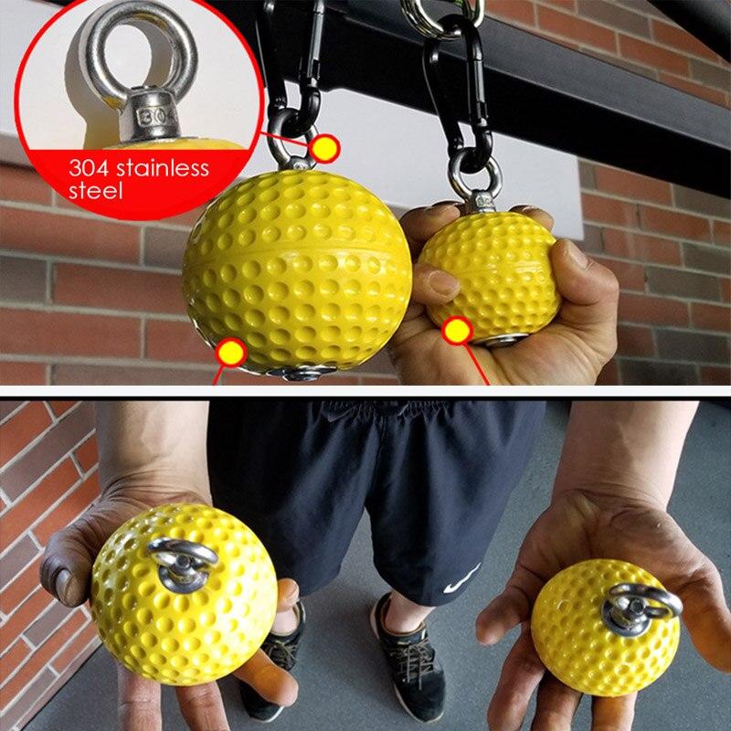 97/72mm puxar para cima escalada braço bola esportes kits força muscular treinamento aperto da mão força pulso fitness força bola de pulso casa ginásio 5