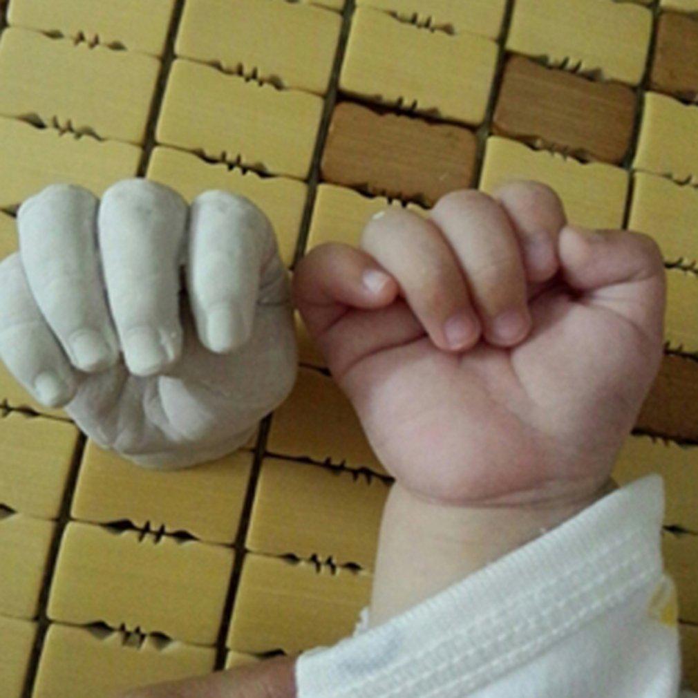400 г пластырь для литья порошка клон набор порошка набор для детской ручной печати следы безопасный процесс литья рук и ног