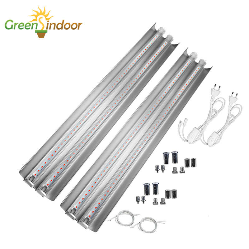 Indoor LED Grow Light Strips 100W Phyto Lamp T5 Full Spectrum Lights For Plants Grow Tent Lamps Growing Lamp For Flowers Herbs
