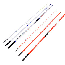 Wholesale 2pcs/pack Carbon Fiber Surf Rod 4.2M 3Sections 100-250g lure weight Casting