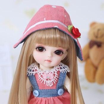 Free Shipping BJD Dolls Lati Yellow Sunny Lea Lami Kuro Coco 1/8 Lovely Flexible wig clothes shoe eye  Pukifee Oueneifs  luodoll