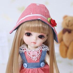 Free Shipping BJD Dolls Lati Yellow Sunny Lea Lami Kuro Coco 1/8 Lovely Flexible wig clothes shoe eye Pukifee Oueneifs luodoll(China)