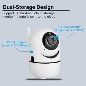 Image 4 - KERUI Mini Size WiFi IP Camera HD1080P Tuya App Indoor Camera Home Security WIFI Surveillance Night Vision Motion Alarm System