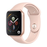 90%off 42mm Smart Watch Series 4 Clock Push Message Bluetooth Connectivity For Android phone IOS apple iPhone 5 7 8 X Smartwatch