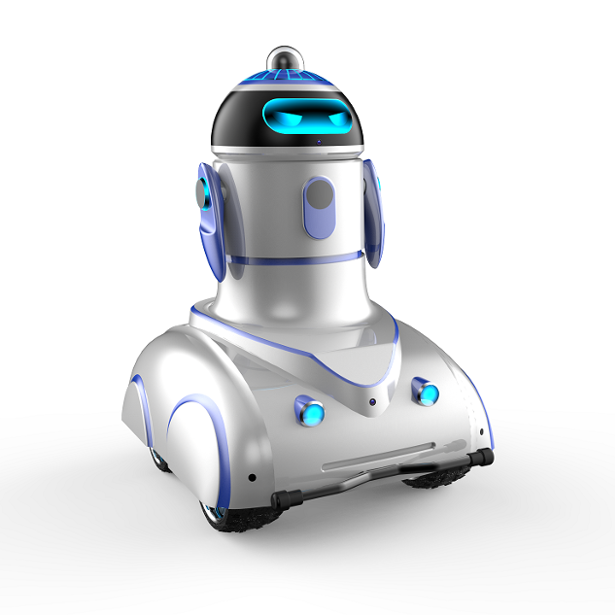 Artificial Intelligent Patrolling Security Robot For Outdoor