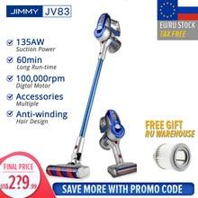 【EU STOCK】JIMMY JV83 Vacuum Cleaner Wireless Handheld Cordless Stick Vacuum Cleaner 20kPa VS JIMMY JV53 Fast Shiping