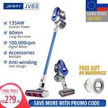 【Eu Stock】jimmy JV83 Máy Hút Bụi Không Dây Cầm Tay Không Dây Dính Hút 20kPa VS Jimmy JV53 Nhanh Shiping