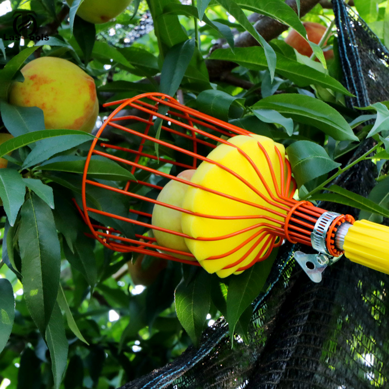 Outdoor Deep Basket Convenient Garden Fruit Picker Peach Picking Catcher Tool