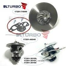 Новый турбокомпрессор картридж core ct26 17201 74090 74091 автозапчасти