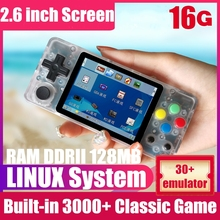 New LDK Retro Video Game Console 2.6 inch Screen Mini Handheld Game Player LINUX System Retro Game Console Family Video Consoles yoteen portable retro mini handheld game console 4 3 inch 64bit 3000 video games classical family game console retro arcade