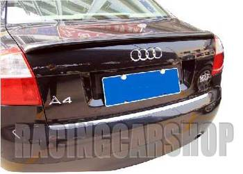 UNPAINTED  A TYPE TRUNK LIP SPOILER FIT FOR AUDI A4 B6 2001-2005  A012F 1