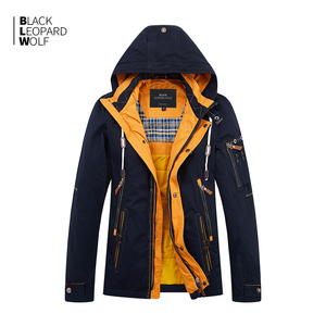 Blackleopardwolf 2019 new arrival spring down jacket men thick cotton high quality with a hood down jacket for spring ZC-027
