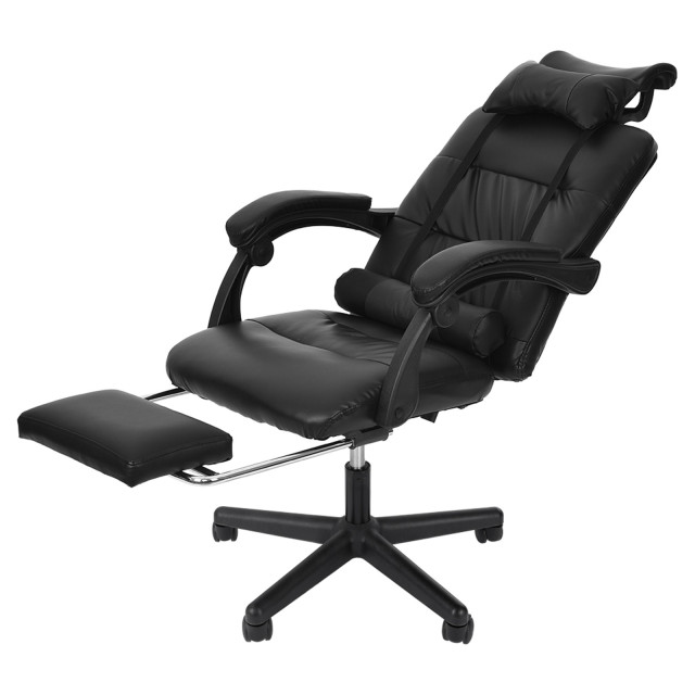 Gaming Chair With Footrest Adjustable Backrest Reclining Leather Office Chair Comfortable Swivel Ergonomic Chair Furniture 3