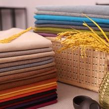 Tela de lino para tapicería de cortinas, tela textil para sofá, para el hogar