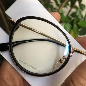 Image 5 - Round fashion spectacles eyeglasses frames Japan for myopia/reading
