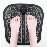 Elektrische EMS Fuß Massager Pad Füße Muscle Stimulator Fuß Massage Matte Verbessern Durchblutung Lindern Schmerzen Gesundheit Pflege