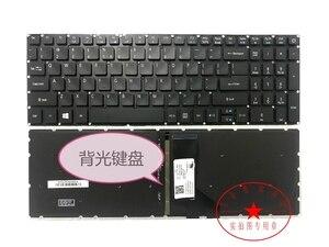 Novo teclado DOS EUA Para O Acer Aspire VN7-572 VN7-572G VN7-572TG VN7-592G VN7-592 VN7-792G Inglês Retroiluminado/Sem retroiluminado backlight