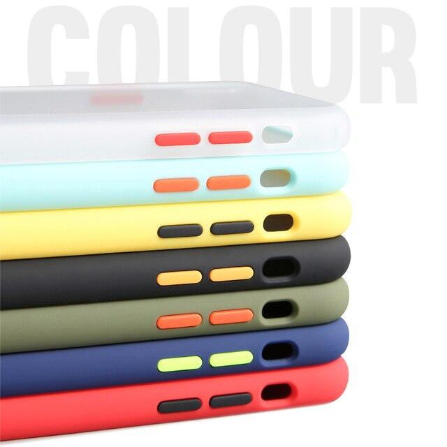 Shockproof Armor Case For Xiaomi Mi 10 Mi 9 Pro Lite Mi CC9e A3 9T Redmi K30 K20 8A 9S Note 6 7 8 Soft Frame Clear Hard PC Cover