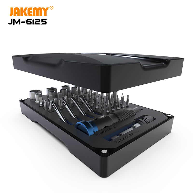 JAKEMY Precision Screwdriver Kit Magnetic Bits Electronics Screwdrivers Set For IPhone Tablet Computer Watch Repair Tools