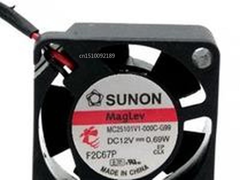 For Fan 2.5cm MC25101V1-000C-G99 2510 12V 0.69W Quiet Fan Free Shipping