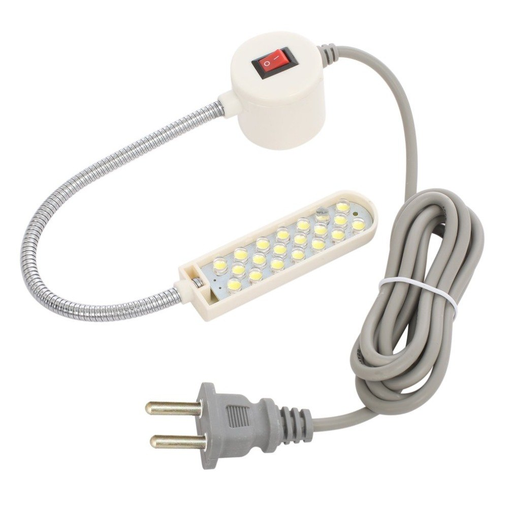 Portable Sewing Machine Light 10 LED Work Light Magnetic Mounting Base Gooseneck Lamp For All Sewing Machine Lighting