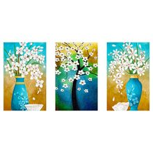 Vase Flowers 5D Special Shaped Diamond Painting Embroidery Needlework Rhinestone Crystal Cross Craft Stitch Kit DIY