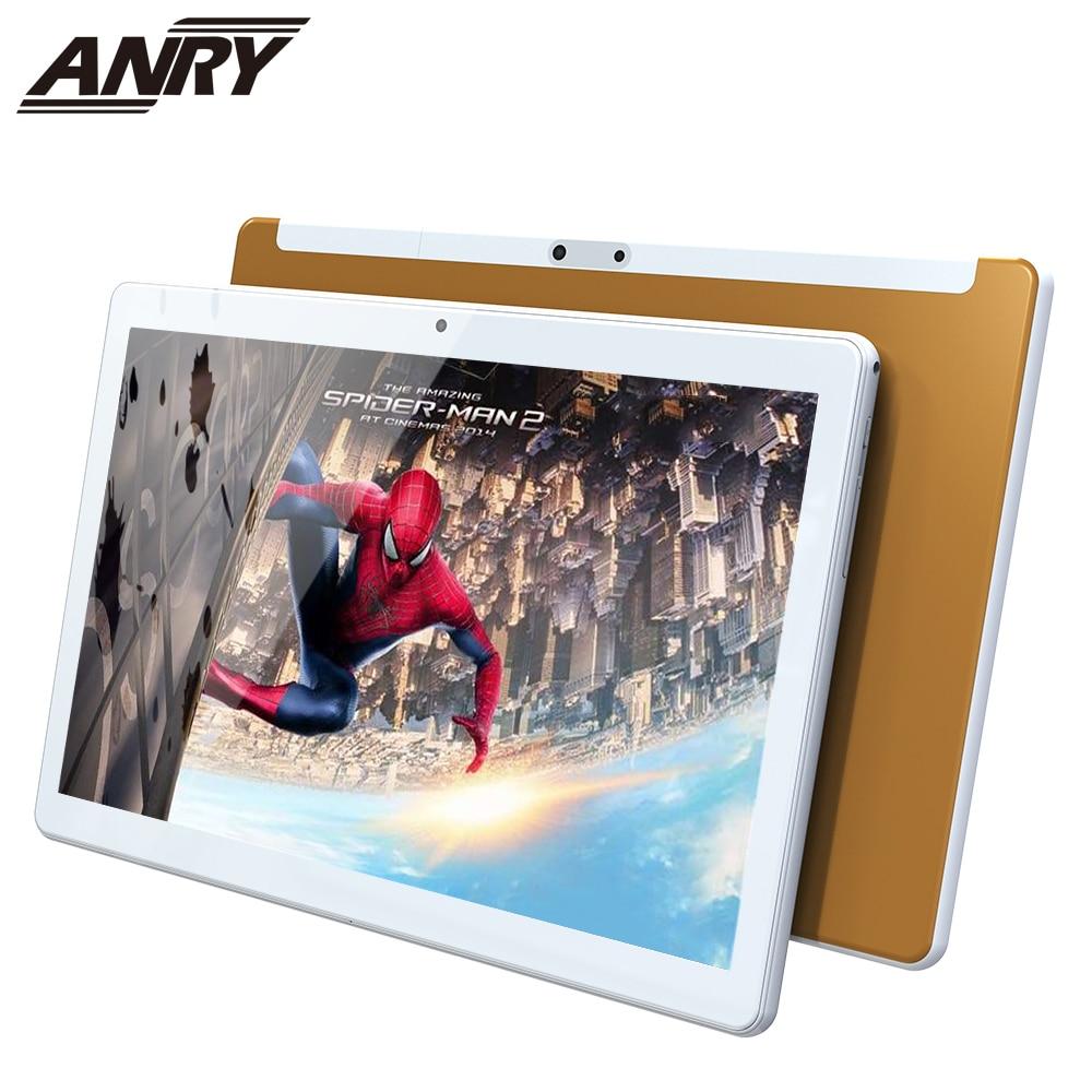 Anry 4g lte telefone chamada 10.1 Polegada android 9.0 tablet pc 8 gb ram 128 gb rom 8000 mah bateria ips tela hd 1920x1200 wifi tablet