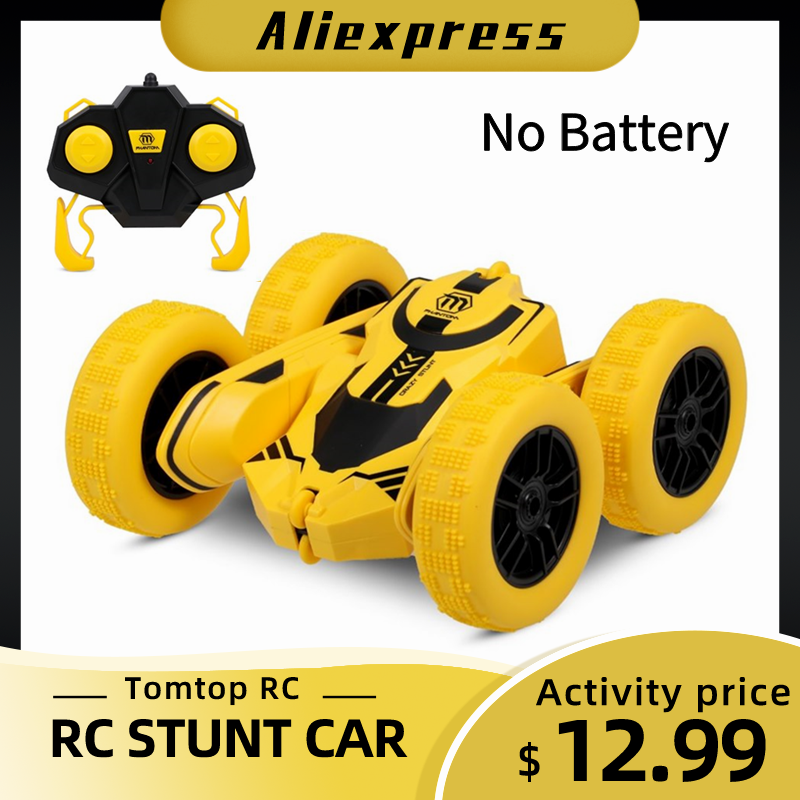 RC Stunt Vehicle Crawler Flips Tumbling High-Speed Double-Sided 360-Degree Car Rc-Car