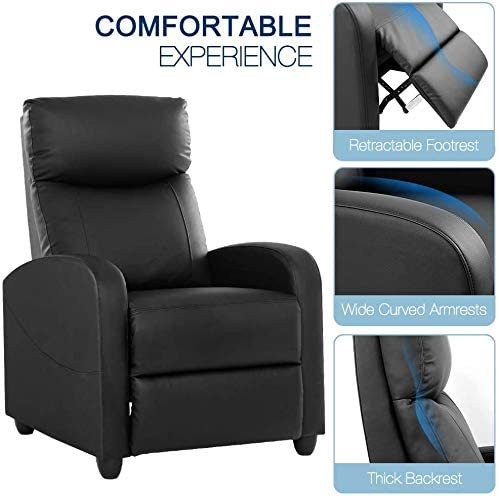 Single Sofa Home Theater Seating Chair 3