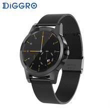 Diggro DI03 Plus Bluetooth Smart watch Waterproof Heart Rate Monitor Pedometer Sleep Monitor for Android & IOS pk DI02 diggro di02 smart watch heart rate monitor bluetooth 4 0 pedometer sleep monitor reminder smartwatch for android