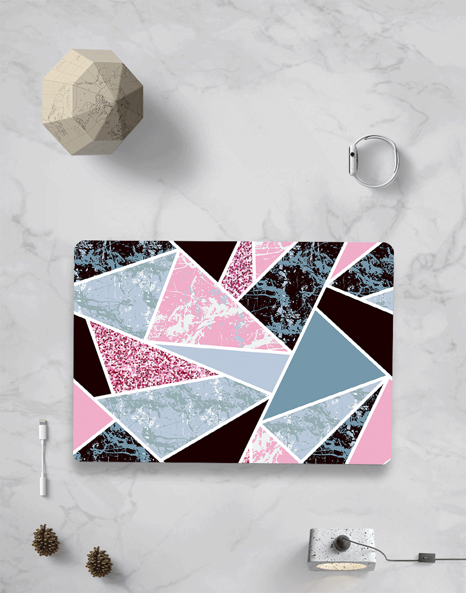 MTT Geometric Hard Case for MacBook 7