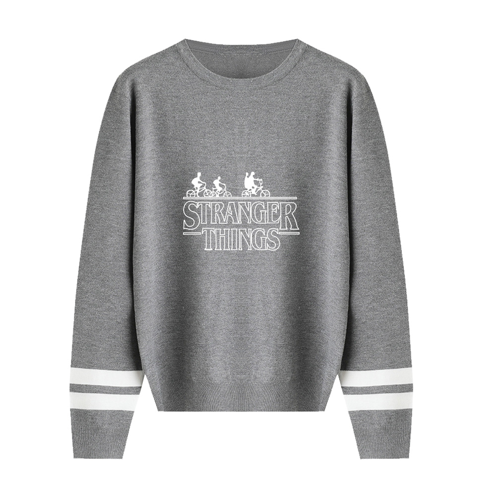 Stranger Things Sweater Men/Women Hot Fall/Winter Casual Boy/Girl Sweater Warm Fashion Harajuku Round Collar Sweater XXS-4XL