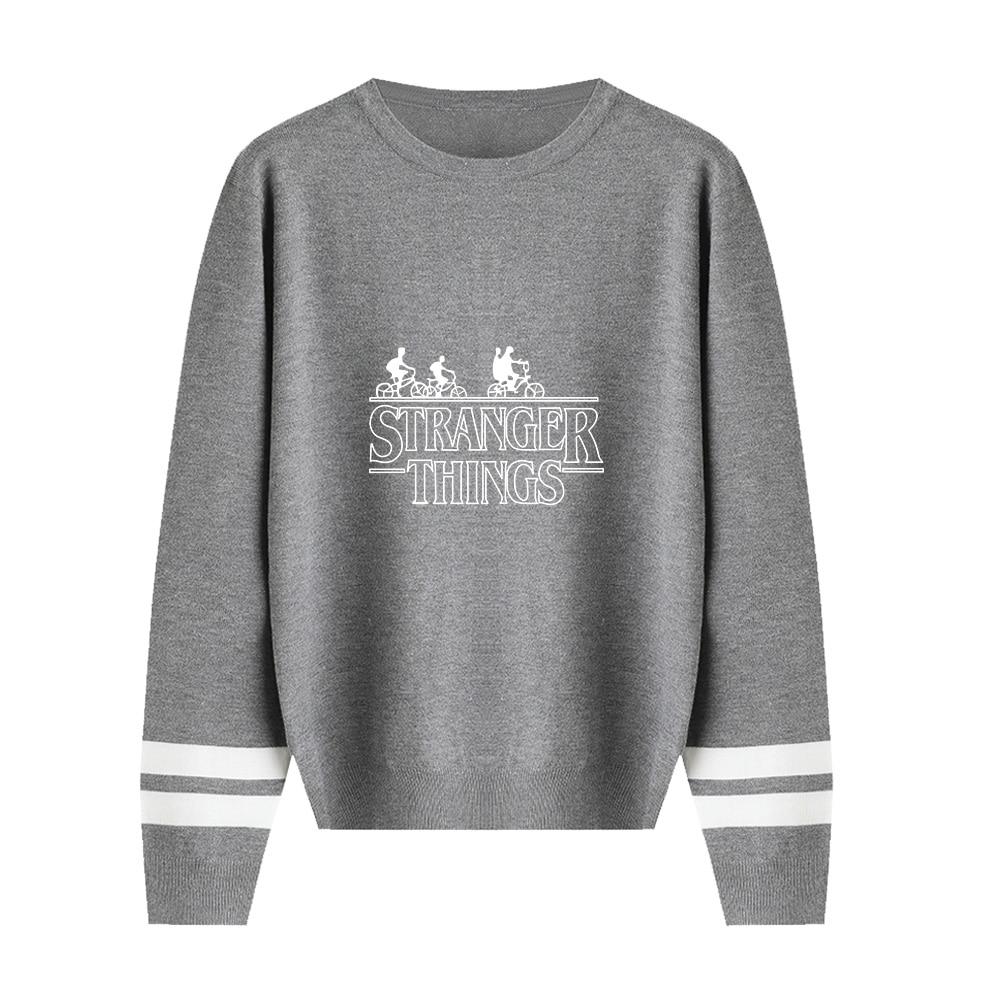 Stranger Things Sweater Men/Women Hot Fall/Winter Casual Boy/Girl Sweater Warm Fashion Harajuku Round Collar Sweater XXS-4XL