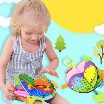 Baby Toys Soft Cloth Books Baby Intelligence Development Infant Educational Stroller Rattle Toys Baby Toys 20% off DS19
