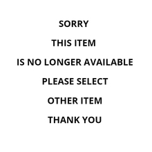 Sorry, this item is no longer available, please select other items in our store. Thank you