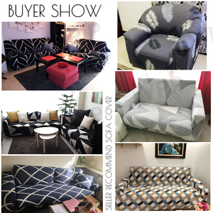 Image 4 - funda sofa elástica slipcovers l forma capas de sofá para sala de estar elastano barato secional capa de sofá 1/2/3/4 seater estiramento