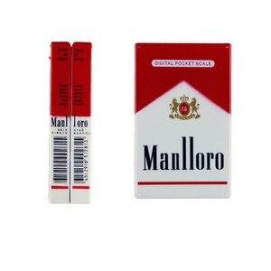 Image 3 - Nieuwe Pop Mini Pocket Elektronische Digitale Sieraden Schaal Voor Goud Sigaret Doos Weeg Balance 0.01 200G Gewichten Digitale Mini schaal