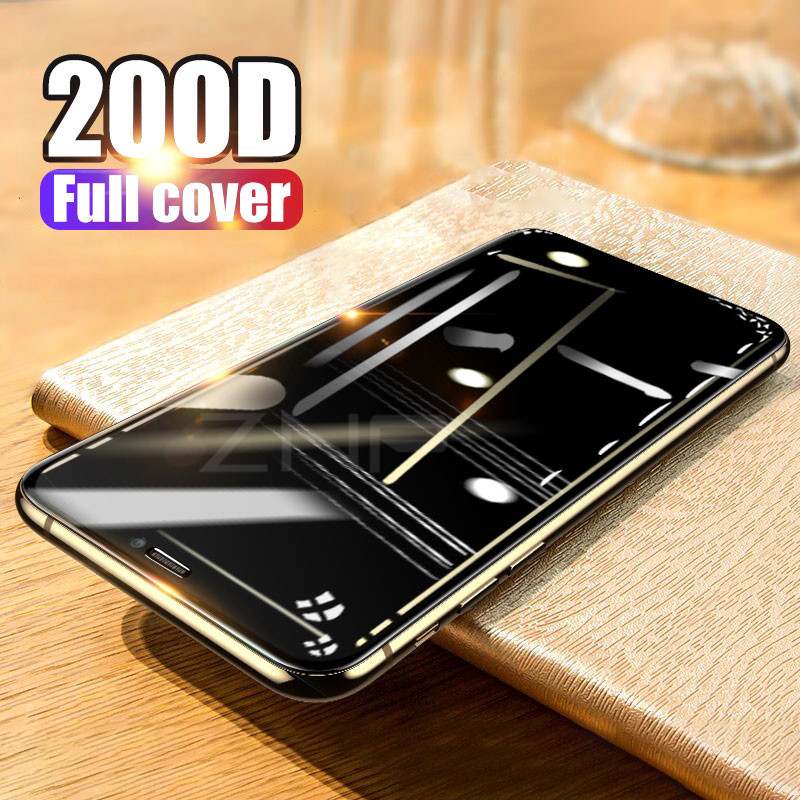 200D Protective Glass On The For IPhone 11 Pro MAX XR X XS Glass Full Cover IPhone 11 Pro X XR Screen Protector Tempered Glass