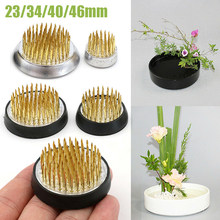 4 tamanhos ikebana titular flor sapo arte fixo arranjo flor inserção base de flor pino de borracha base titular decoração floral pote
