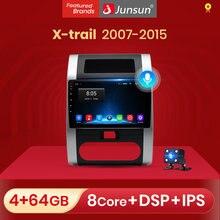 Rádio do carro de junsun controle de voz 2 + 32gb android 10 para nissan x-trail 2 t31 xtrail 2007-2015 reprodutor de vídeo multimídia rádio do carro