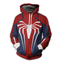 Autumn New Style Hoodie Men's Amazing Spider Man Students Printed Hoodie Men'S Wear